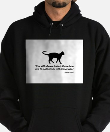 Ancient Cat Proverb Hoodie