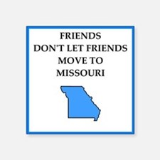 i hate this state Sticker