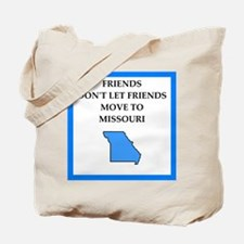 i hate this state Tote Bag