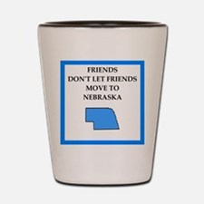 nebraska Shot Glass