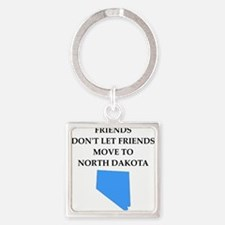 north dakota Keychains