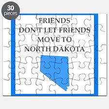 north dakota Puzzle