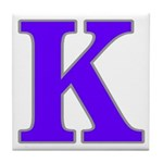 New Orleans Street Name Tile K Coaster