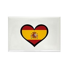 Spanish Love Rectangle Magnet