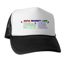Akita Property Laws 2 Trucker Hat