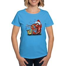 Crayfish Xmas Dark T-Shirt