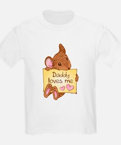 Mouse Love Dad T-Shirt