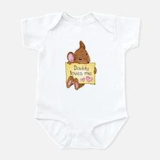 Mouse Love Dad Infant Bodysuit