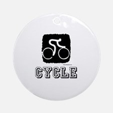 CYCLE Ornament (Round)