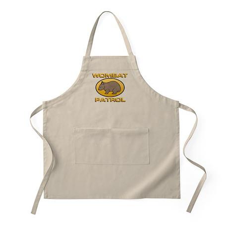 Wombat Patrol BBQ Apron