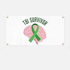TBI Survivor Banner