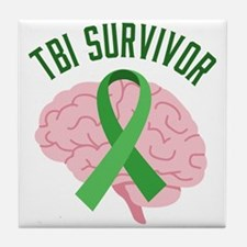 TBI Survivor Tile Coaster