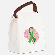 Brain Injury Awareness Canvas Lunch Bag