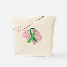 Brain Injury Awareness Tote Bag