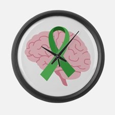 Brain Injury Awareness Large Wall Clock
