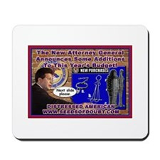 New Attorney General Mousepad