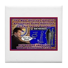 New Attorney General Tile Coaster
