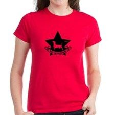 Obey the Dachshund! Star Icon Tee