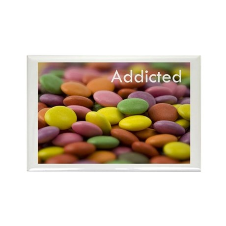 Addicted Rectangle Magnet (10 pack)