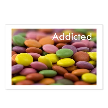 Addicted Postcards (Package of 8)