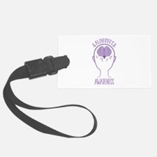 Alzheimers Awareness Luggage Tag