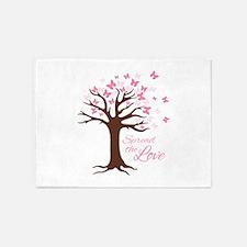 Spread Love 5'x7'Area Rug