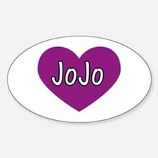 Jo Jo Oval Decal