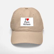 Pain Killers Baseball Baseball Cap