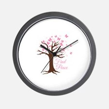 Find Peace Wall Clock