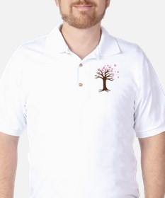 Butterfly Hope Tree T-Shirt