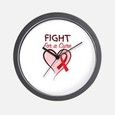 Fight For Cure Wall Clock