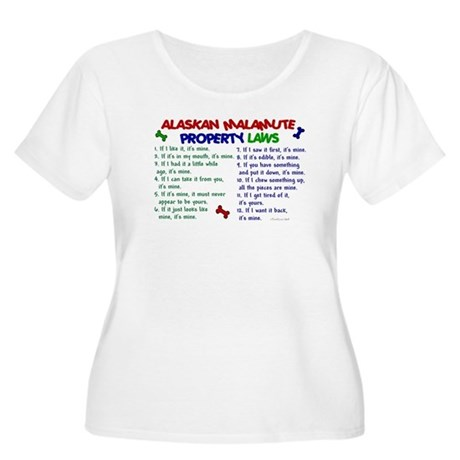 Alaskan Malamute Property Laws 2 Women's Plus Size