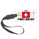 First aid Luggage Tags