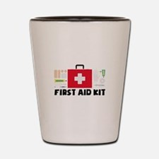 First Aid Kit Shot Glass