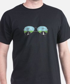 Aviator Sunglasses T-Shirt
