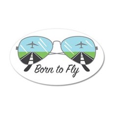 Born To Fly Wall Decal