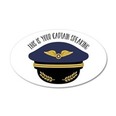 Your Captain Wall Decal