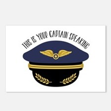 Your Captain Postcards (Package of 8)