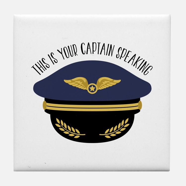 Your Captain Tile Coaster