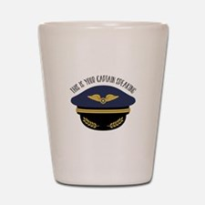 Your Captain Shot Glass