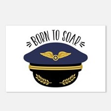 Born To Soar Postcards (Package of 8)