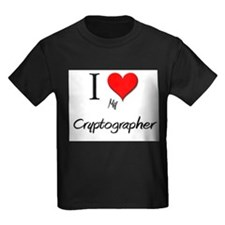 I Love My Cryptographer T