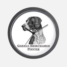German Shorthair Pointer Dog Breed Wall Clock