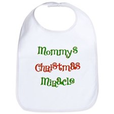 Mommy's Christmas Miracle Bib