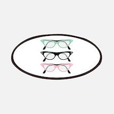 Retro Glasses Patch