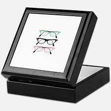 Retro Glasses Keepsake Box