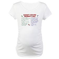 Basset Hound Property Laws 2 Shirt