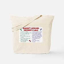 Basset Hound Property Laws 2 Tote Bag