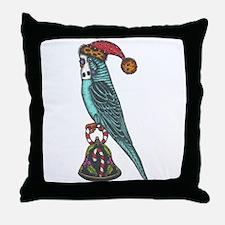 Bijou's Christmas Bell Throw Pillow