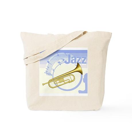Blue Jazz Tote Bag
